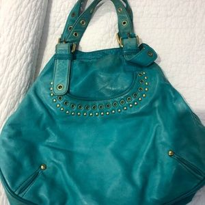 Marc by Marc Jacobs Teal Handbag